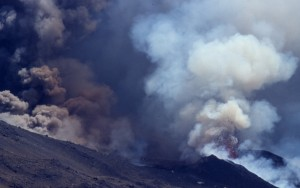 ETNA eruption cone+panaches 2