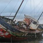 QUELMER cimetière de bateaux