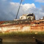 QUELMER cimetiere bateaux
