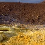 VULCANO cratere et soufre