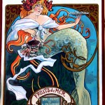 affiche ST GUILLAUMEfruits de mer
