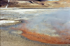 geyser EL TATIO fumerollesCHILI