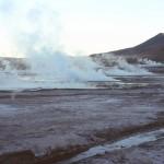 geyser EL TATIO lever du soleil CHILI