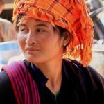jeune femme ethnie PAO