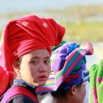 jeune fille ethnie PAO