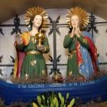 les 2 saintes vénérées