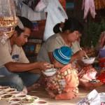 marché de KALAW en famille
