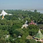pagodes des collines MANDALAY