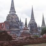 AYUTTHAYA temple en brique
