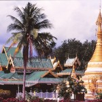 MAE HONG SON temple chong klang