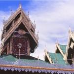MAE HONG SON toits de chong klang