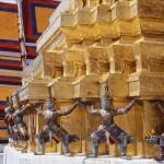 gardiens palais royal BANGKOK