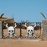 entrée squelet coast NAMIBIE