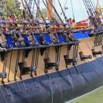 coté tribord HERMIONE
