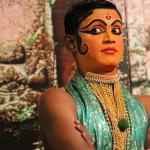 MOHINI femme du KATHAKALI