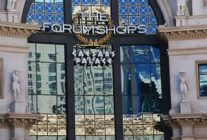 façade du forum shops