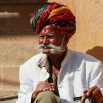 Homme en turban