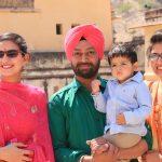 famille Sikh fort dAMBER