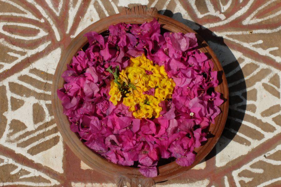 fleurs rituelles