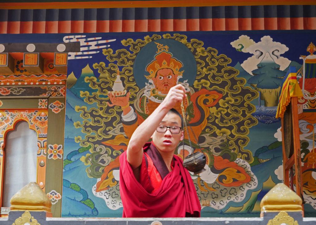jeune moine à MONGAR
